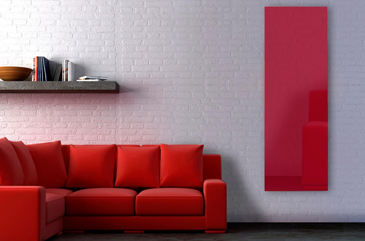 radiateurs design verre trempé